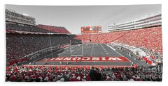 0095 Badger Football  Beach Sheet