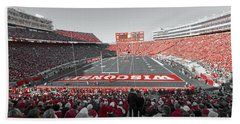 0096 Badger Football Beach Sheet