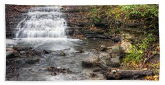 0278 South Elgin Waterfall Beach Towel