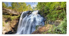 0302 Cuyahoga Valley National Park Brandywine Falls Beach Towel