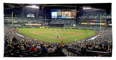 0434 Safeco Field Panoramic Beach Towel
