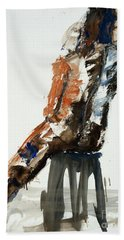 04832 Tall Beach Sheet by AnneKarin Glass