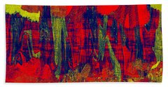 0486 Abstract Thought Beach Towel