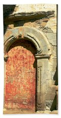 0584 San Juan Capistrano Mission Beach Towel