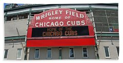0601 Wrigley Field Beach Towel