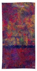 0799 Abstract Thought Beach Towel