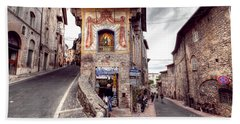 0801 Assisi Italy Beach Towel