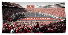0811 Camp Randall Stadium Beach Towel