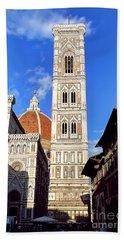 0820 The Basilica Di Santa Maria Del Fiore - Florence Italy Beach Towel