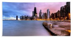 0865 Chicago Sunrise Beach Towel