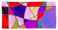 0269 Abstract Thought Beach Towel