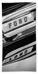 1948 Ford F-1 Pickup Truck Beach Towel