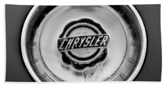 1953 Chrysler Gs-1 Ghia Emblem Beach Towel