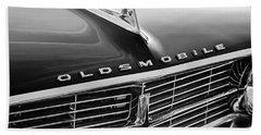 1962 Oldsmobile Starfire Hardtop Hood Ornament - Emblem Beach Towel
