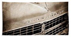 1963 Oldsmobile Starfire Grille Emblem Beach Towel