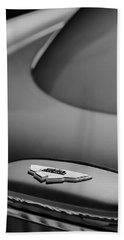 1965 Aston Martin Db5 Sports Saloon Emblem Beach Towel