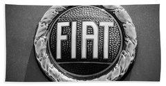 1972 Fiat Dino Spider Emblem Beach Towel