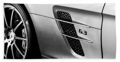 2012 Mercedes-benz Sls Gullwing Wheel Beach Towel