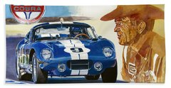 64 Cobra Daytona Coupe Beach Towel