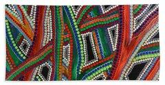 Aboriginal Inspirations 8 Beach Towel