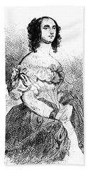 Adele Foucher Hugo (1804-1868) Beach Towel