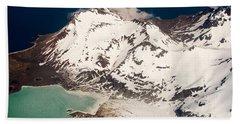 Alaskan Glacier Outside Of Homer Beach Towel