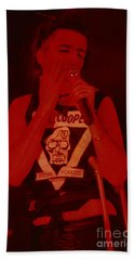 Alice Cooper At The Concord Pavillion Beach Towel