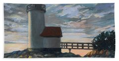 Annisquam Light Beach Towel
