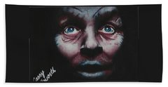 Anthony Hopkins Beach Towel