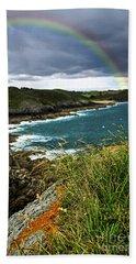 Atlantic Coast In Brittany Beach Towel