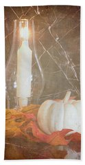 Beach Towel featuring the photograph Autumn Light by Heidi Smith