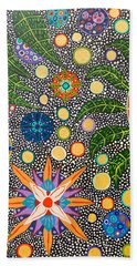 Ayahuasca Vision Beach Sheet