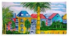 Bahamian Blues Beach Towel