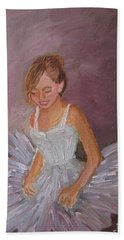 Ballerina 2 Beach Towel