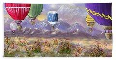 Balloons Beach Towel by Jamie Frier