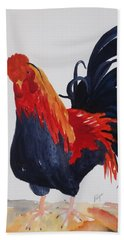 Barnyard Boss II Beach Towel by Ellen Levinson