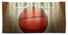 Basketball Museum Beach Towel by James Larkin
