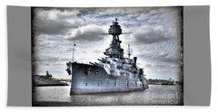 Battleship Texas Beach Towel