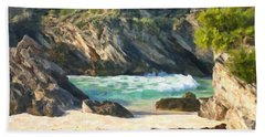 Bermuda Hidden Beach Beach Towel