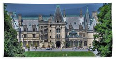 Biltmore House Beach Towel by Savannah Gibbs