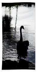 Black Swan Beach Towel