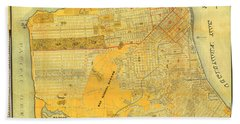 Britton And Reys Guide Map Of The City Of San Francisco. 1887. Beach Sheet