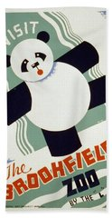 Brookfield Zoo Panda Beach Towel