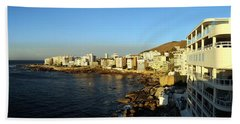 Buildings At The Waterfront, Bantry Beach Towel