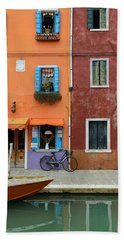 Burano Italy Beach Sheet