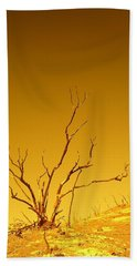 Burnt Bush Beach Towel