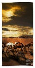 Camels Beach Towel