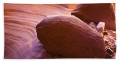 Canyon Rocks Beach Towel by Bryan Keil