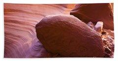 Canyon Rocks Beach Sheet by Bryan Keil