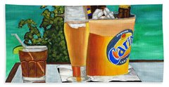 Caribbean Beer Beach Towel